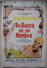 Oh For a Man / Will Success Spoil Rock Hunter Film Poster - Spanish One Sheet
